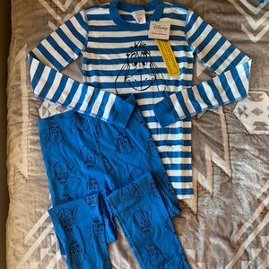 Hanna Andersson New NWT Eeyore Pajamas 160 Pooh